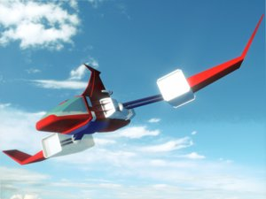 delfighter daltanious 3D model