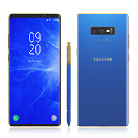 3D samsung galaxy note 9 model