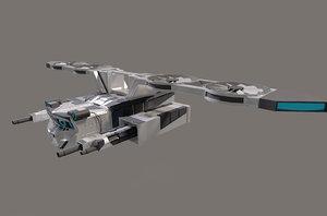 3D drone video model