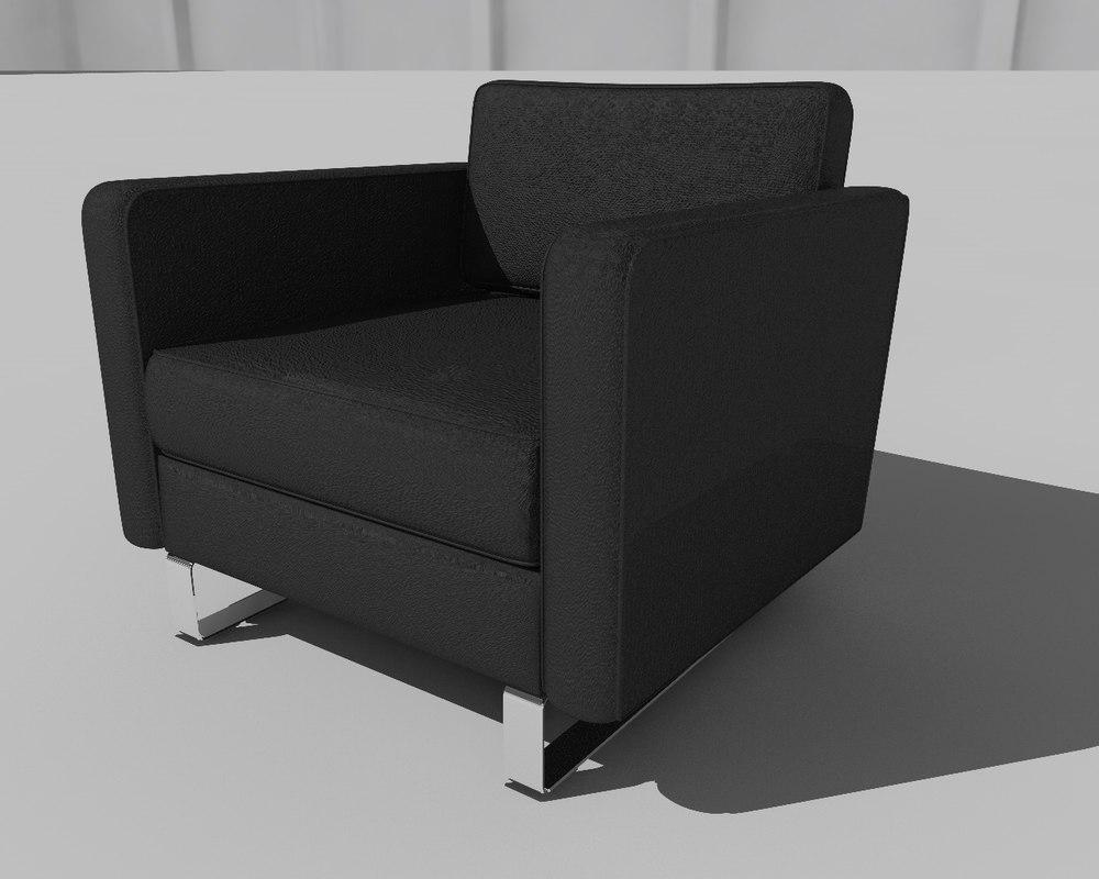 architecture chair 3D