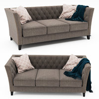 dunstaffnage chesterfield sofa 3D model