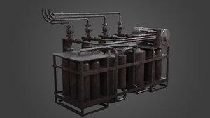 3D gas element factory