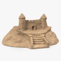 sand castle model