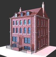london building 3D model