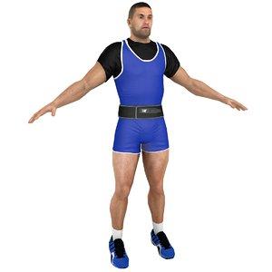 3D weightlifter games
