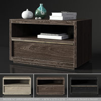 RH BEZIER 36in OPEN NIGHTSTAND