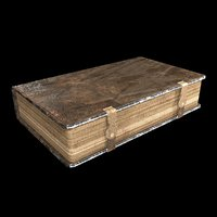 old book 3D