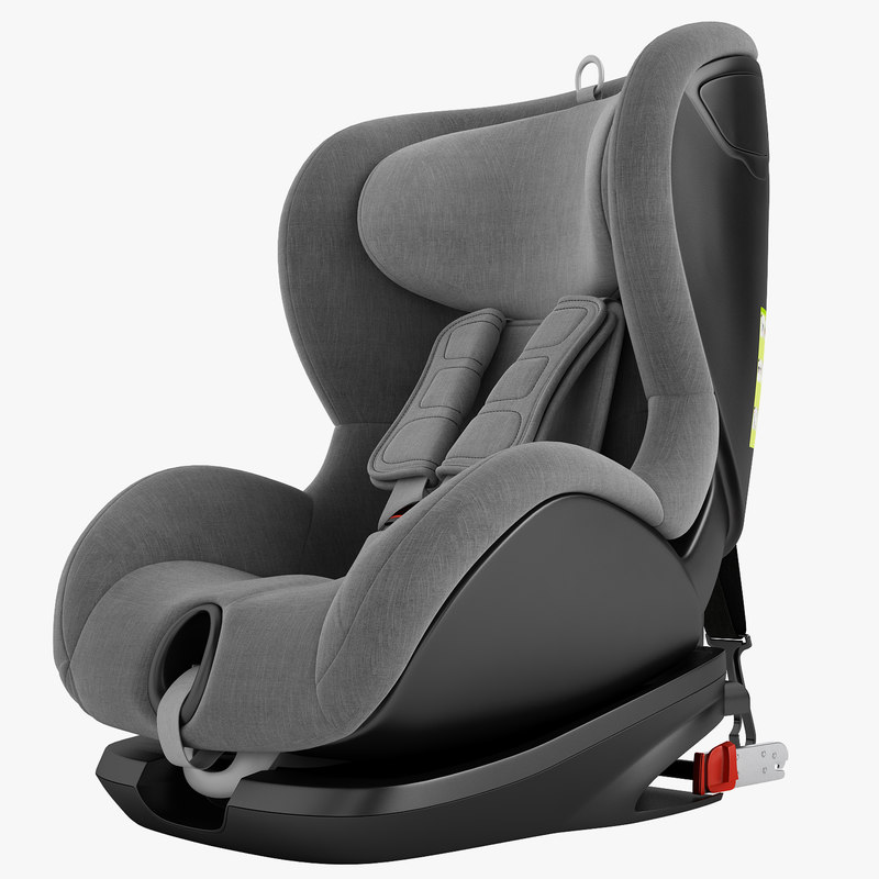 children car chair 3D model