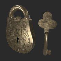 Lock gold