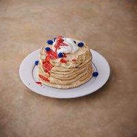 3D pan cake pancake model