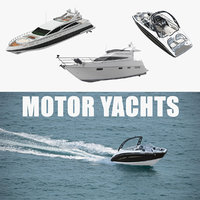 3D motor yachts