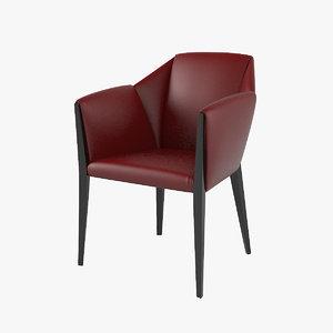 sveva dining chair 3D