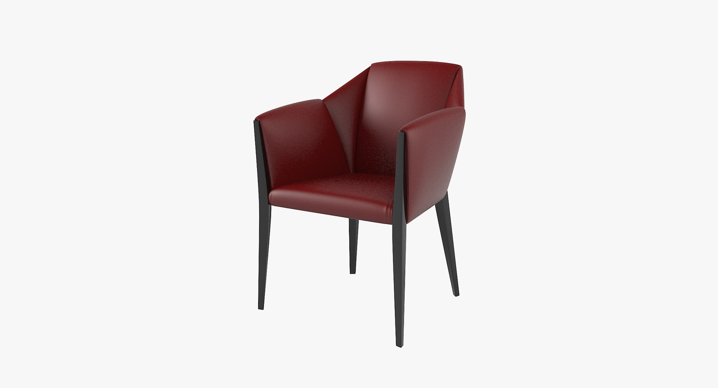 sveva dining chair 3D