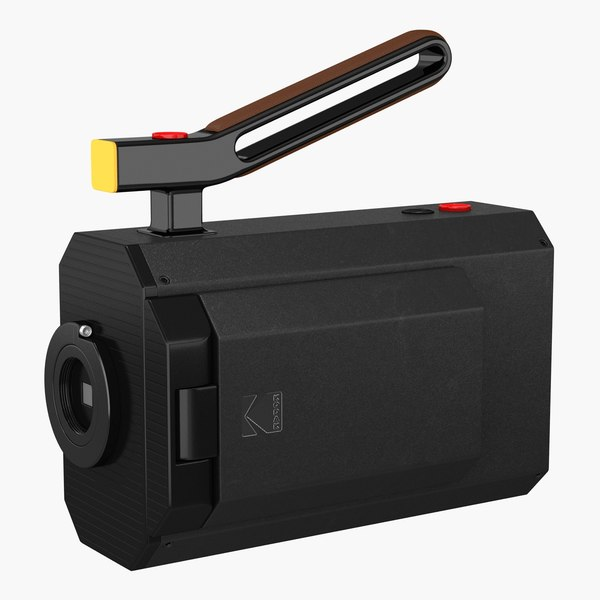 3D kodak super 8 camera