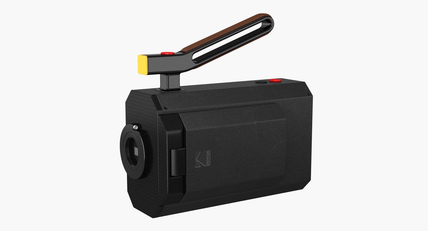 3D kodak super 8 camera