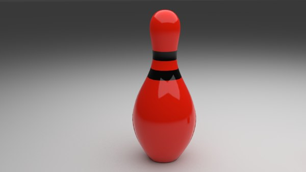 bowling ball blender 3D model