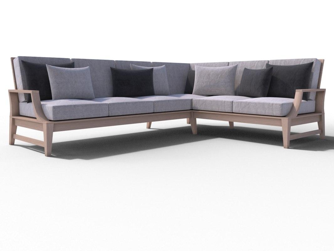 sofa janus et 3D model