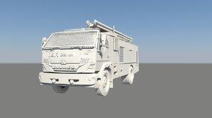service truck 3D