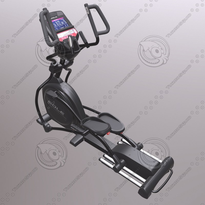 3D bicycle ellipsentrainer e95