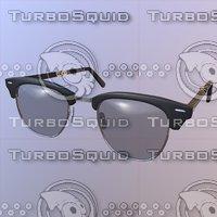 3D model sunglasses pbr unity