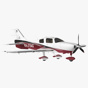cessna corvalis ttx rigged model