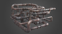 Factory Element - Pipe Maze