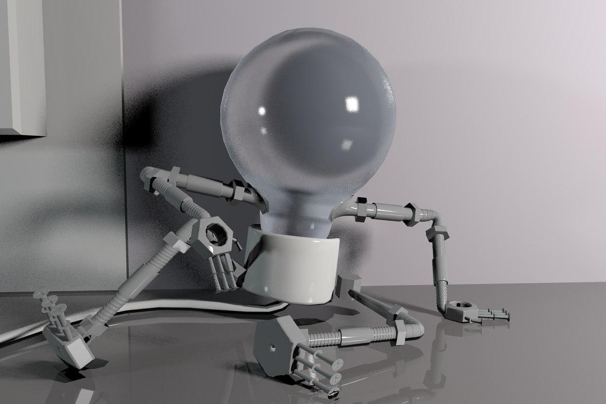 bulp character 3D