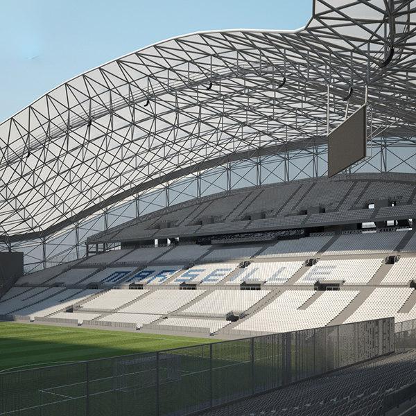 3D stade velodrome