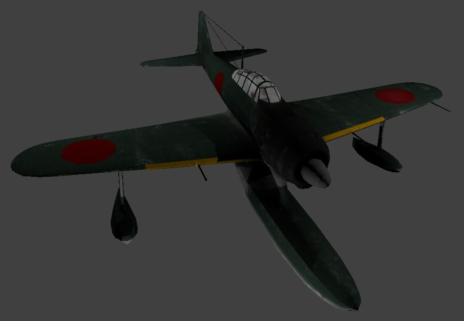 3D model japanese rufe army