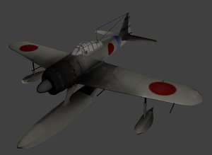 japanese rufe navy 3D model