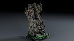 photoscan - bark 3D model