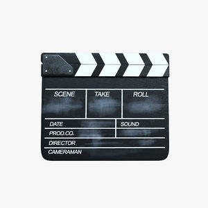 movie clapper model