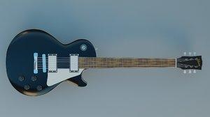 3D guitar gibson les paul