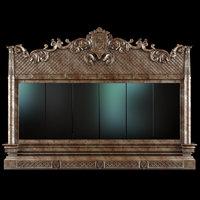 3D classic mirror angello cappelini model