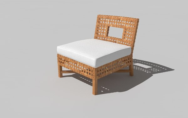 3D alva chair model