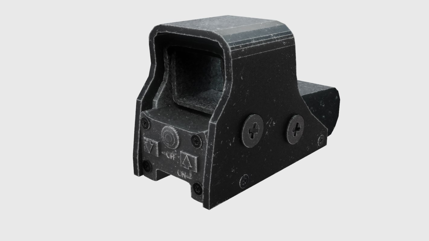 3D worn holographic sight