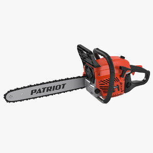 3D patriot 4518 chainsaw model