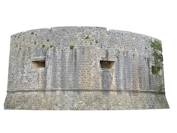 wall castle 3D model