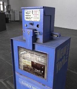 3D newspapper box