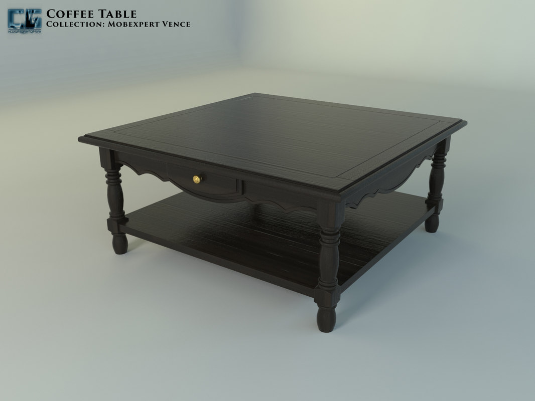 coffee table mobexpert vence 3D model