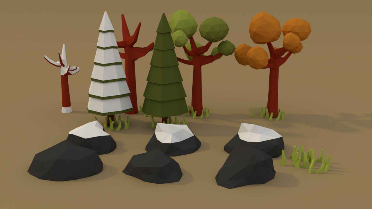 3D forest model