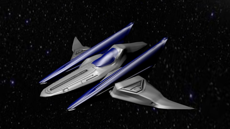 arwing starfox 3D model