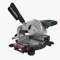 3D realistic metaboo mitre saw