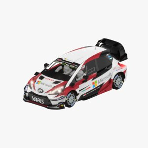 toyota yaris wrc 2018 model