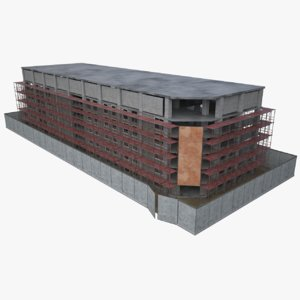 construction site 3D