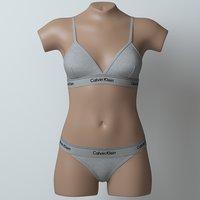 lingerie mannequin model