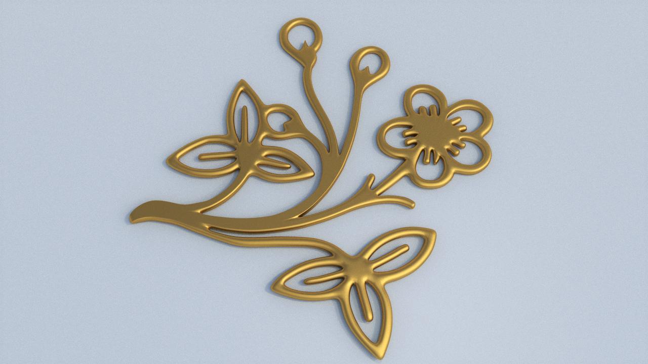 3D flower floral
