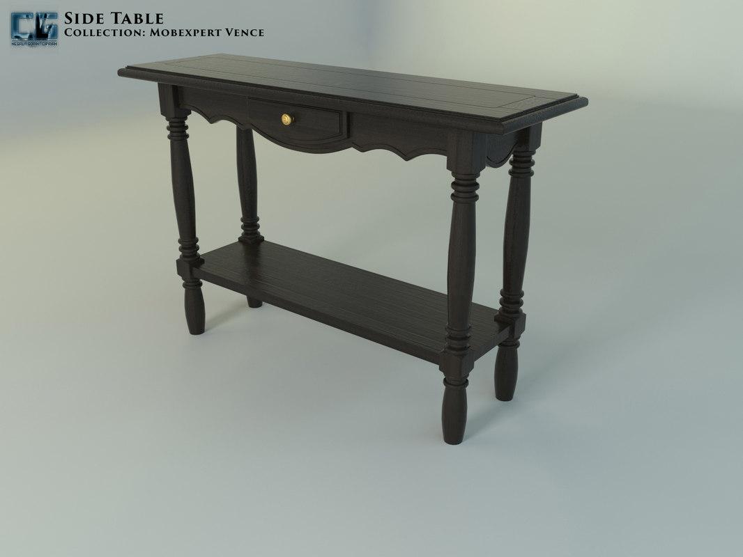 3D table mobexpert vence