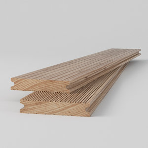 outdoor floor boards terrace 3D