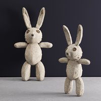 3D model rag bunny